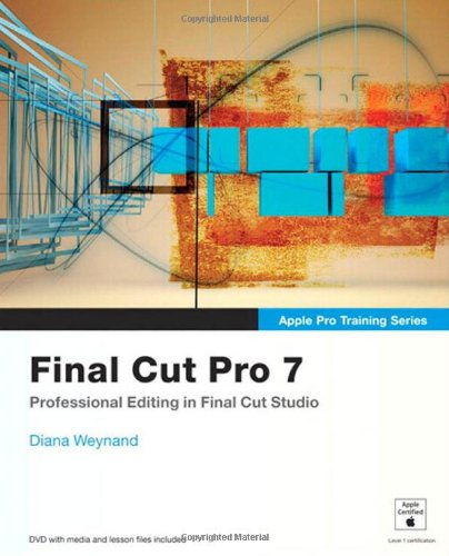 Final Cut Pro 7   2010 edition cover