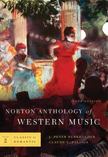 Norton Anthology of Western Music  6th 2010 edition cover