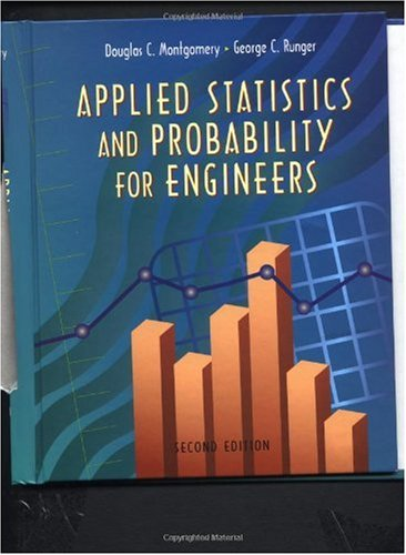 Applied Statistics and Probability for Engineers  2nd 1999 9780471170273 Front Cover