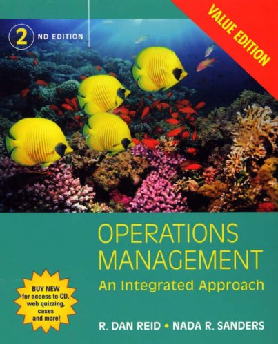 Operations Management An Integrated Approach 2nd 2006 (Revised) edition cover