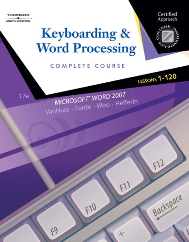 Keyboarding and Word Processing  17th 2009 (Revised) edition cover