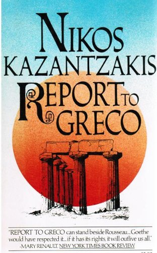 Report to Greco N/A edition cover