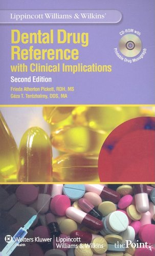 Dental Drug Reference with Clinical Implications  2nd 2010 (Revised) edition cover