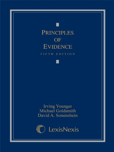 Principles of Evidence  6th 2007 edition cover