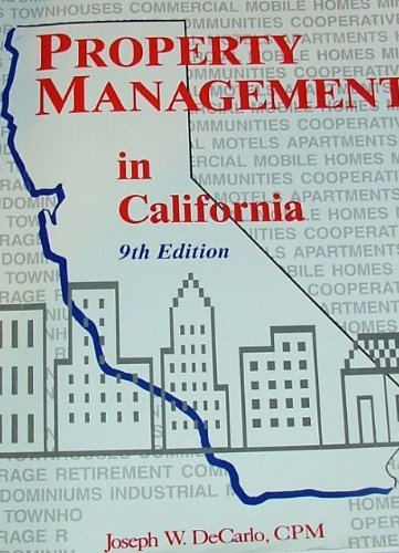 Property Management in California 10th 2005 edition cover