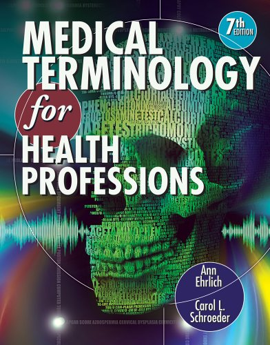 Medical Terminology for Health Professions  7th 2013 edition cover