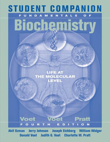 Fundamentals of Biochemistry  4th 2013 edition cover