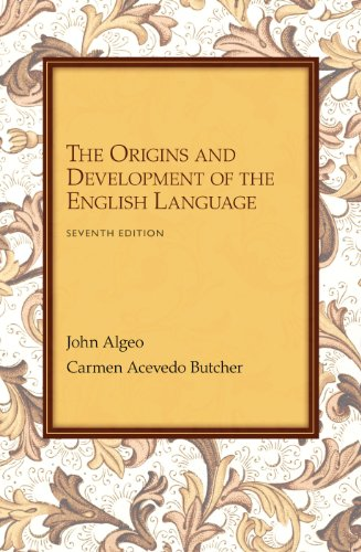 Origins and Development of English Language  7th 2014 edition cover
