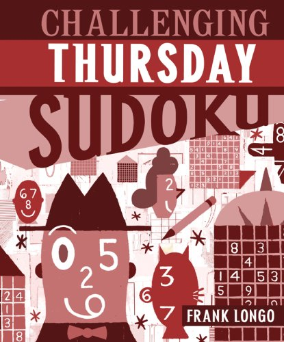 Challenging Thursday Sudoku  N/A 9781402744273 Front Cover