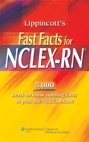 Fast Facts for NCLEX-RN   2012 edition cover