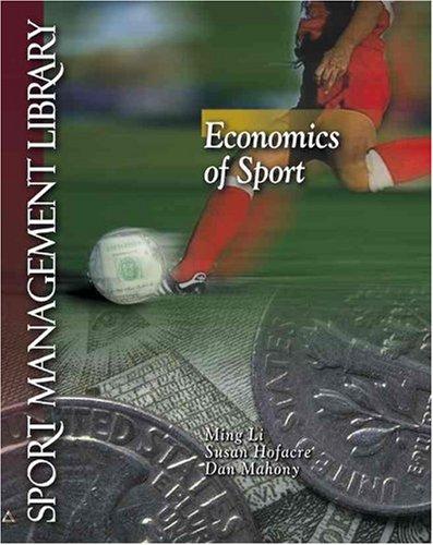 Economics of Sports   2001 edition cover