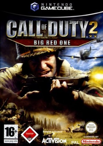 Call of Duty 2: Big Red One GameCube artwork
