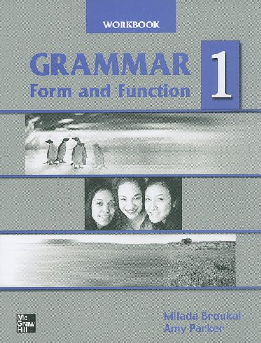Grammar Form and Function 1 WB   2004 edition cover