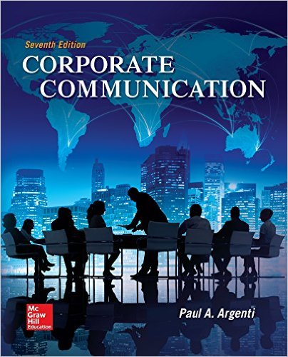 Corporate Communication  7th 2016 (Revised) 9780073403274 Front Cover
