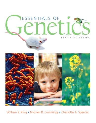 Essentials of Genetics  6th 2007 (Revised) edition cover
