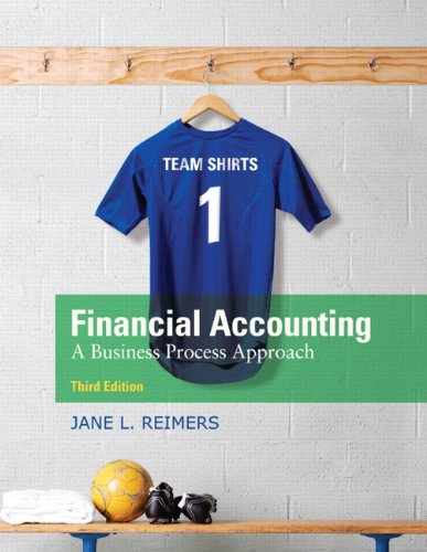 Financial Accounting A Business Process Approach 3rd 2011 edition cover