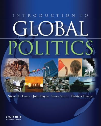 Introduction to Global Politics   2011 edition cover