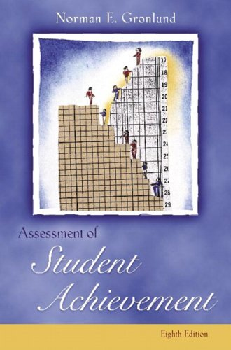 Assessment of Student Achievement  8th 2006 (Revised) edition cover