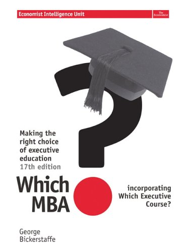 Which MBA? N/A edition cover