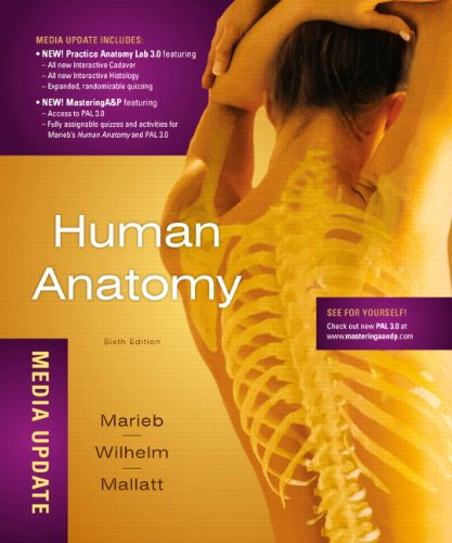 Human Anatomy, Media Update  6th 2012 (Revised) edition cover