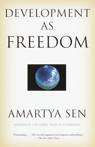 Development as Freedom  N/A edition cover