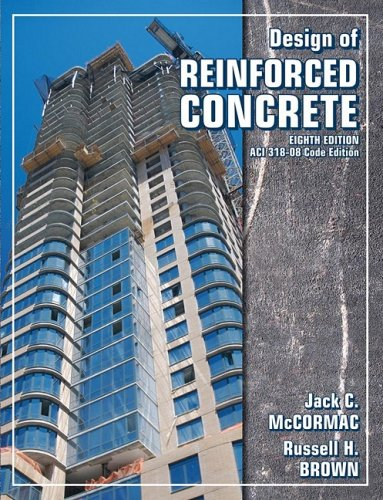 Design of Reinforced Concrete  8th 2009 edition cover