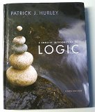 CONCISE INTRO.TO LOGIC-TEXT ON 10th 2008 edition cover