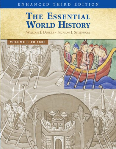 Essential World History To 1800 3rd 2009 (Revised) 9780495566274 Front Cover