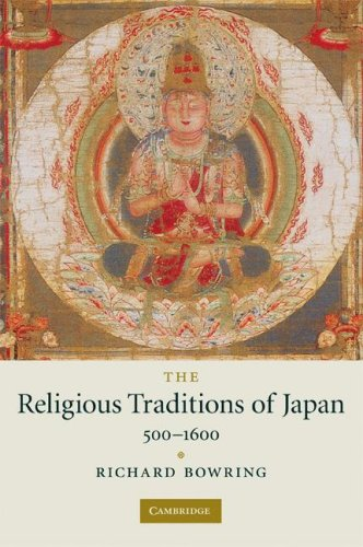 Religious Traditions of Japan, 500-1600   2008 edition cover