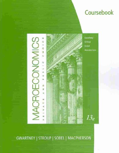 Microeconomics Private and Public Choice 13th 2011 9780538452274 Front Cover
