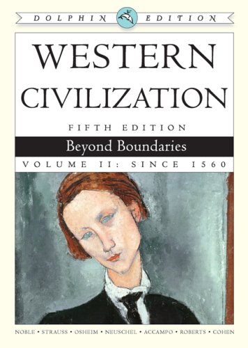 Western Civilization: Beyond Boundaries, Dolphin Edition 5th 2008 edition cover