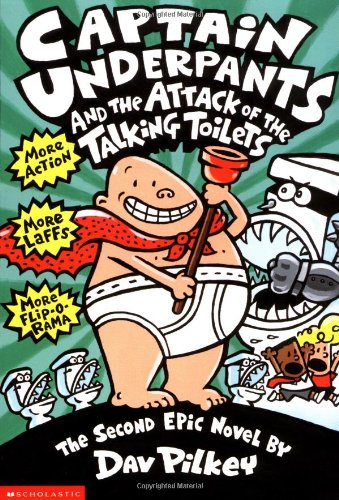 Attack of the Talking Toilets   1999 edition cover