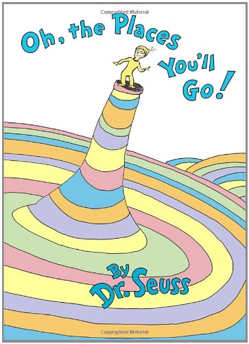 Oh, the Places You'll Go!   1990 9780679805274 Front Cover