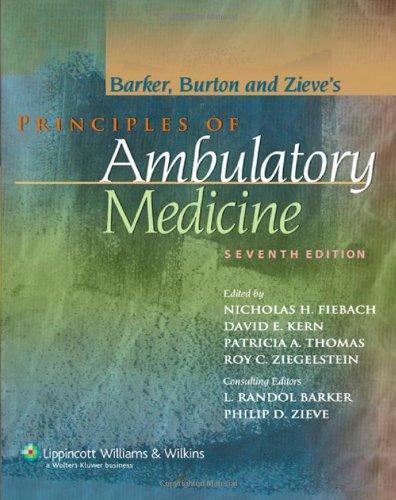 Principles of Ambulatory Medicine  7th 2007 (Revised) edition cover