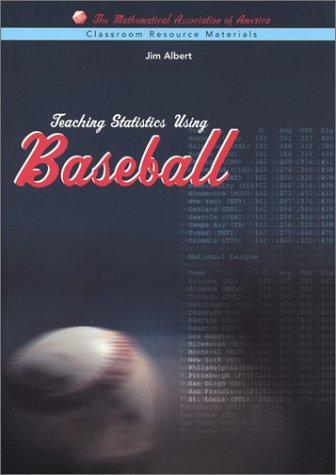 Teaching Statistics Using Baseball   2003 edition cover