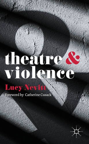Theatre and Violence   2013 edition cover