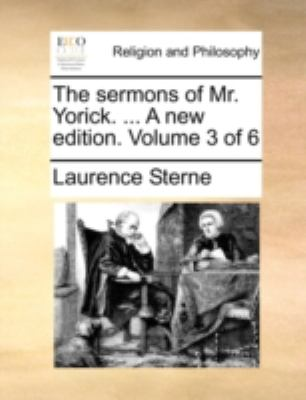 Sermons of Mr Yorick a New Edition  N/A edition cover