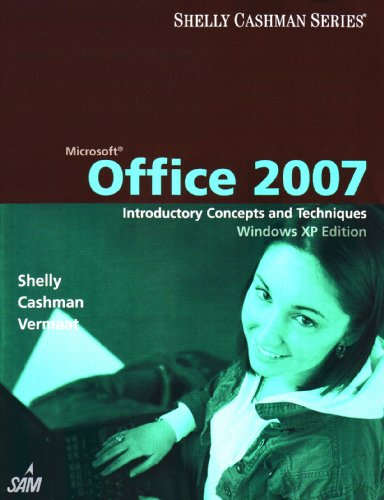 Microsoft Office 2007 Introductory Concepts and Techniques, Windows XP Edition  2008 edition cover