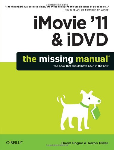 iMovie '11 and iDVD   2011 edition cover