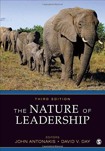 Nature of Leadership  3rd 2018 9781483359274 Front Cover