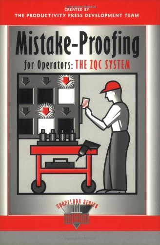 Mistake-Proofing for Operators The ZQC System  1997 edition cover
