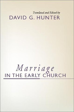 Marriage in the Early Church  N/A edition cover