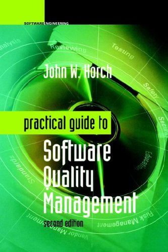 Practical Guide to Software Quality Management  2nd 2003 edition cover