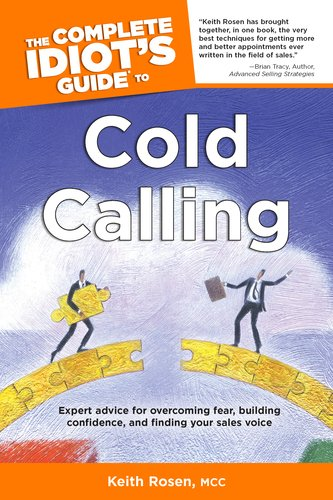 Complete Idiot's Guide to Cold Calling   2004 edition cover