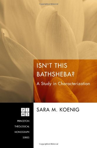 Isn't This Bathsheba? A Study in Characterization N/A edition cover
