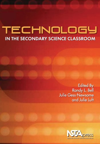 Technology in the Secondary Science Classroom   2008 edition cover