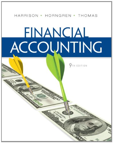 Financial Accounting  9th 2013 edition cover
