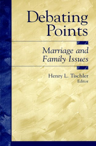 Debating Points Marriage and Family Issues  2001 edition cover