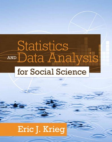 Statistics and Data Analysis for Social Science   2012 (Revised) edition cover