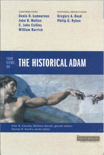 Four Views on the Historical Adam   2013 edition cover